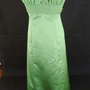 Green David's Bridal Gown